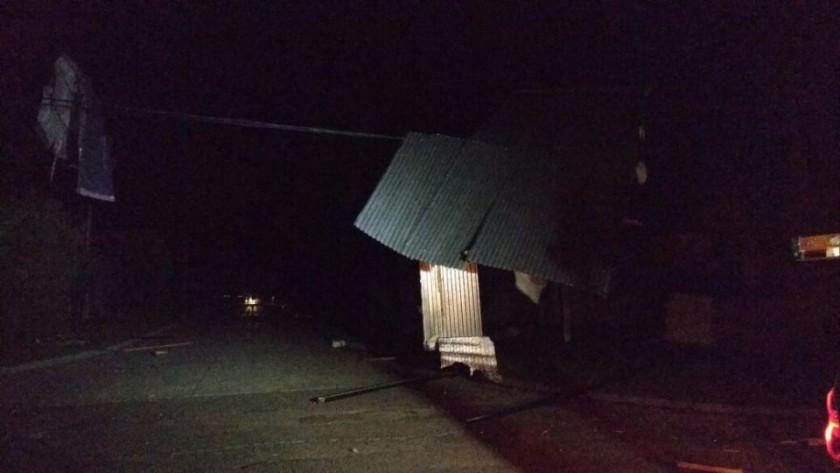 La tormenta y la falta de energía causaron variados inconvenientes