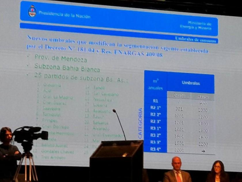 Schwindt sobre la recategorización del gas: 'la resolución no está escrita ni firmada '