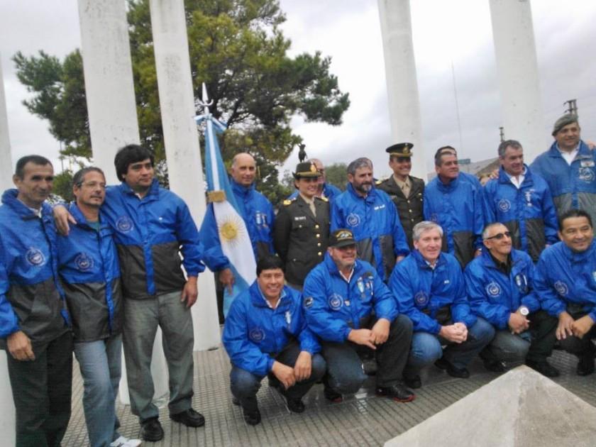 La Vigilia de ex Combatientes por Radio Olavarría