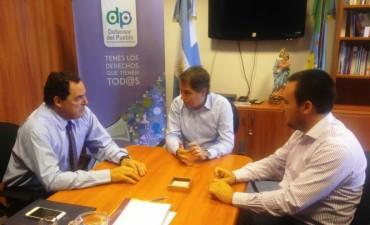 Reunión de trabajo del Senador Vitale y el concejal Iguerategui con el Defensor del Pueblo Provincial Lorenzino