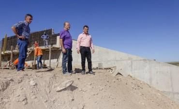 Azul: la presa La Isidora se inauguraría en abril