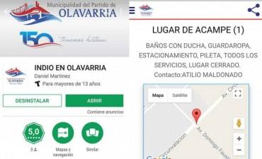 #IndioEnOlavarría: App para smartphones con todo lo que hay que saber