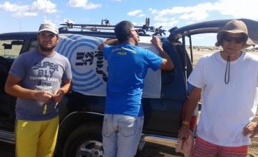 Radio Olavarría en certamen de Pesca en Claromecó