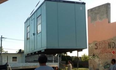 Aulas modulares para la Escuela N° 18