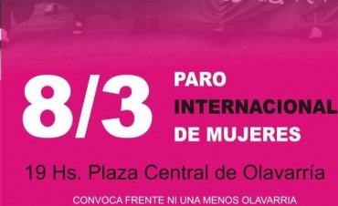 Convocan a la Marcha esta tarde en la Plaza Central
