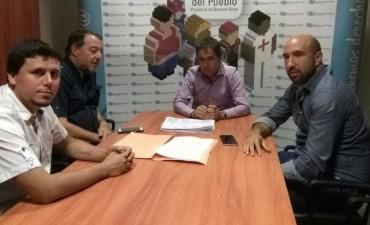 Aguilera y Bajamón reunidos con el Defensor del Pueblo