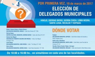 Elección de Delegados: capacitación para autoridades de mesa