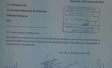El miércoles 22 habrá sesión especial para tratar el pedido de interpelación a Galli