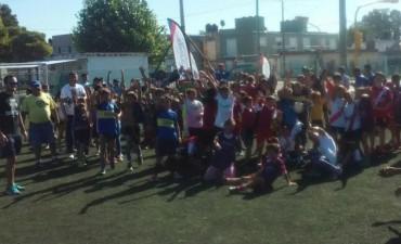 Exitoso primer encuentro de Fútbol Barrial
