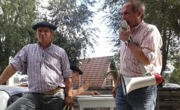 Remate Alzaga Unzué y Cía con Mario Esnal ,ayer en Olavarría
