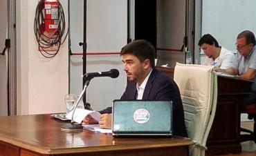 La interpelación: Galli respondió las preguntas y deslindó responsabilidades