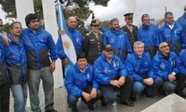 Vigilia de ex Combatientes por Radio Olavarría