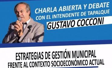 El Intendente de Tapalqué brindará una charla en Olavarría