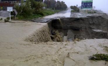 Mandan ayuda desde Olavarría hacia Comodoro Rivadavia