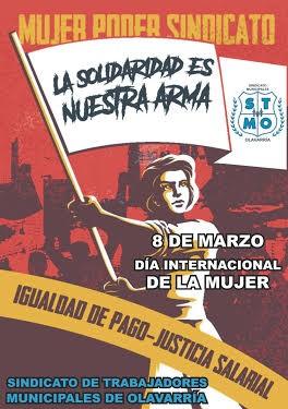 Las trabajadoras municipales pintan un mural por el Día Internacional de la Mujer