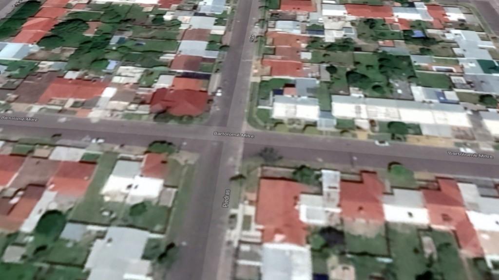 Escruche en una vivienda del Barrio Sarmiento