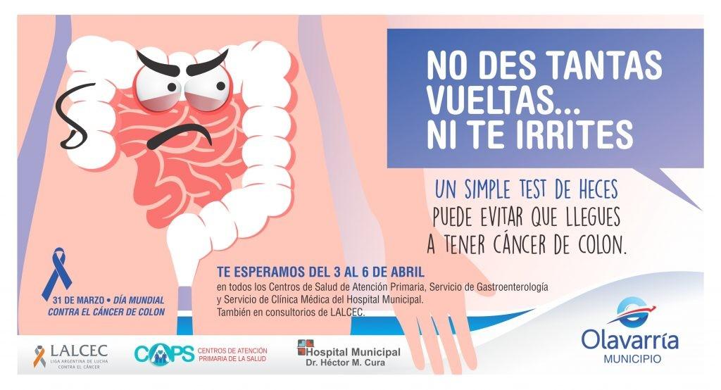 Campaña de prevención del cáncer de colon