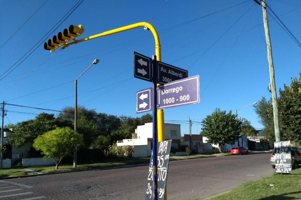 Seguridad vial: arreglo de nomencladores y demarcación