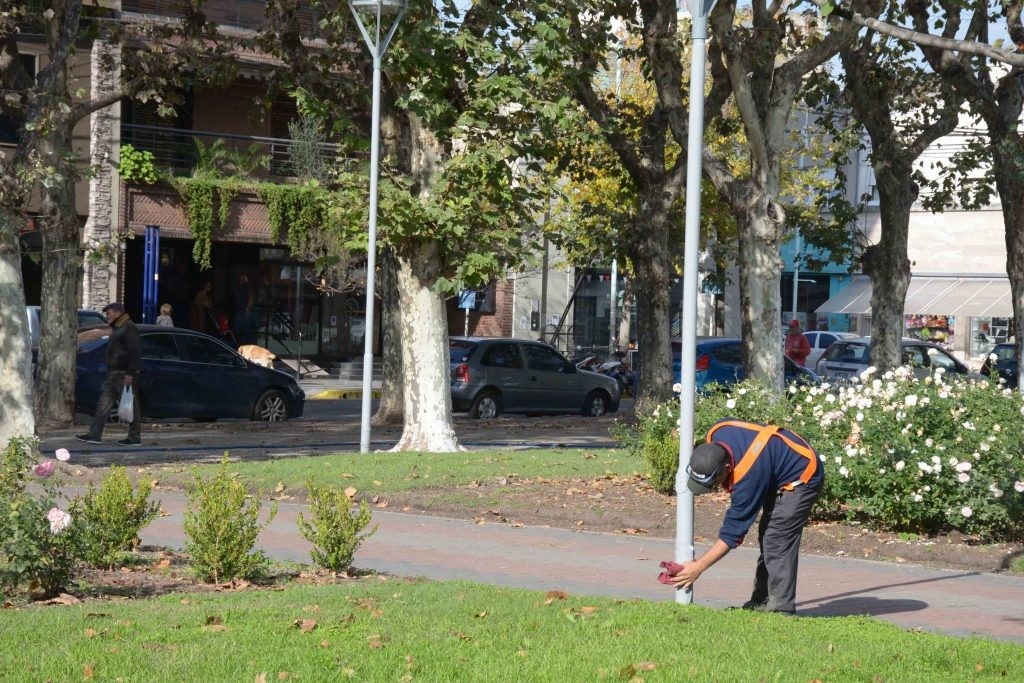 La Plaza Central de Olavarría lucirá embellecida