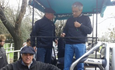 Antonio De Los Heros presentó el remate de Tapalqué