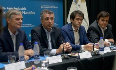 El sub secretario de Coordinación Política Hugo Rossi, habló de la reunión en Agroindustria
