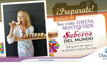 """Jimena Monteverde en """"Sabores del Mundo"""""""