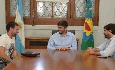 El Intendente se reunió con Nicolás Pezzucchi