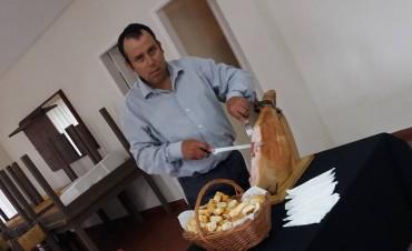 Marcelo Sequeira presentó la empresa de catering
