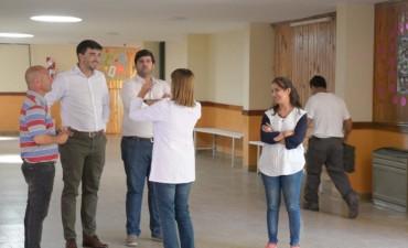 "El Intendente visitó la Escuela Nº 80 ""Crucero General Belgrano"""