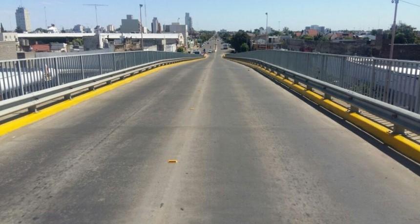 Culminó el mantenimiento en el puente de Av. Colón