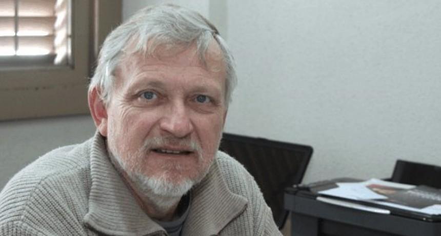 El ingeniero Hugo Santonja de Inta Olavarría, habló de la sequía