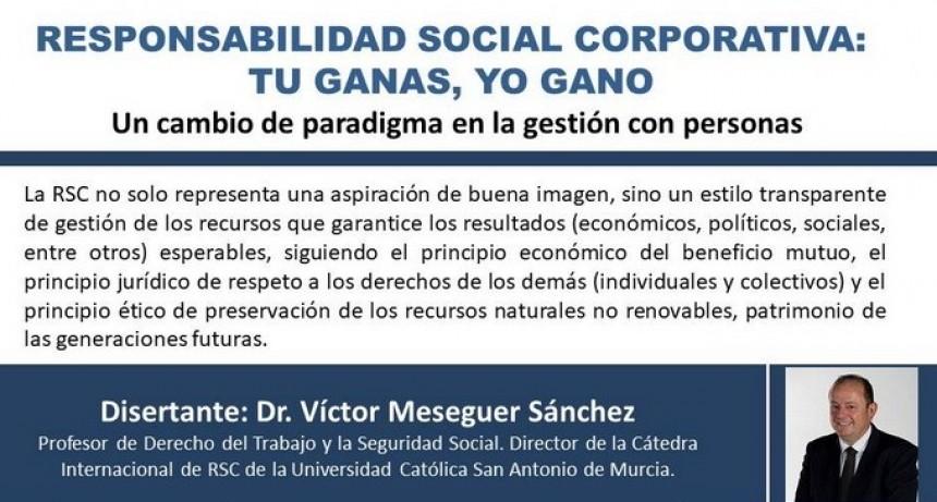 Conferencia sobre Responsabilidad Social Corporativa