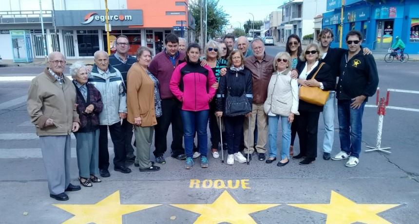 Pintaron Estrellas Amarillas en Del Valle y Rivadavia