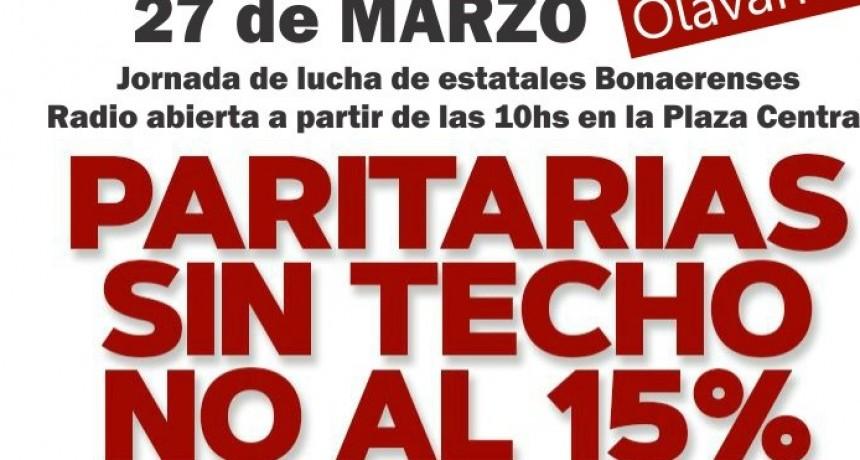 Este martes se realizará una jornada de Lucha de Estatales Bonaerenses