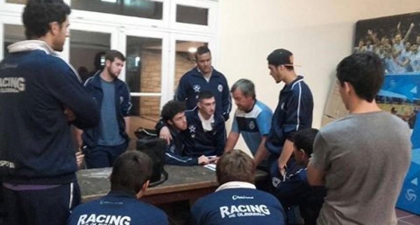 Charla del voley de Racing en Secundaria N°6 (ex Nacional)