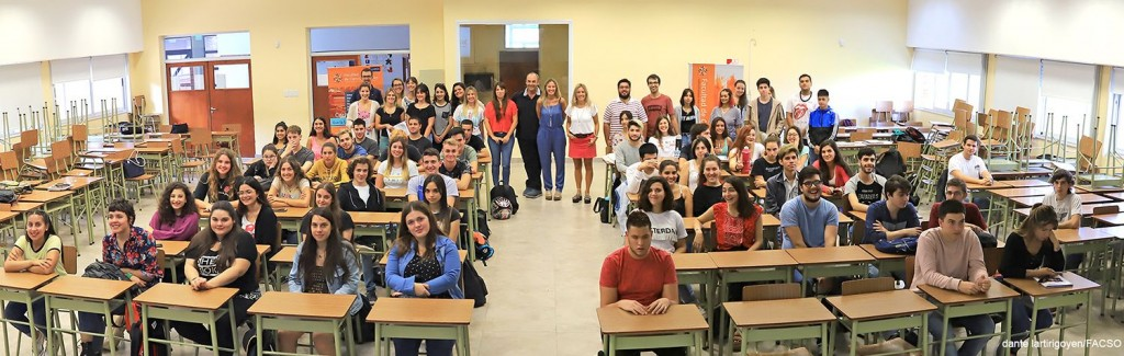 Comenzó oficialmente el Curso de Introducción a la Vida Universitaria en Sociales