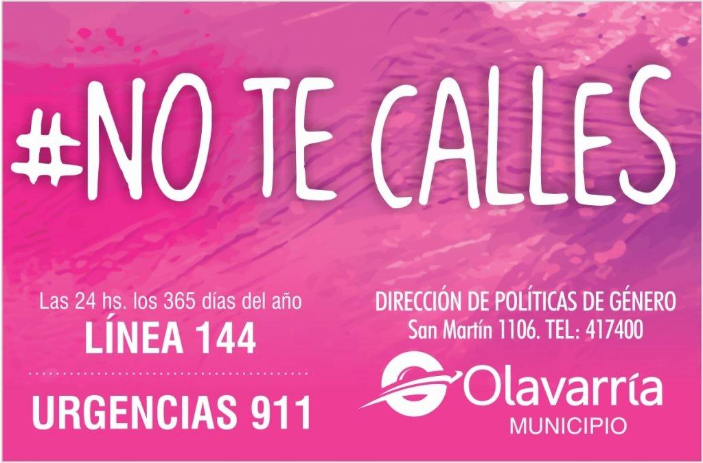 Día de la Mujer: Lanzan la campaña 'No te calles'
