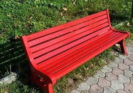 Este sábado un grupo de mujeres pintarán de rojo un banco de la plaza central