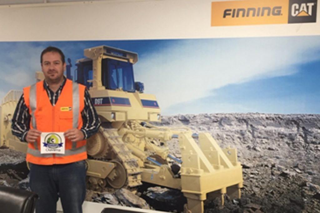 El Municipio certificó a Finning Olavarría como Comercio Sustentable