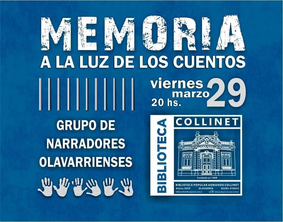 Semana de la Memoria en la Biblioteca Collinet