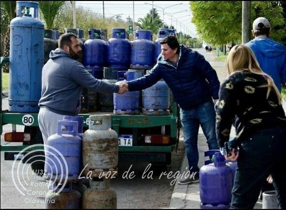 Vuelven los operativos de venta de garrafas