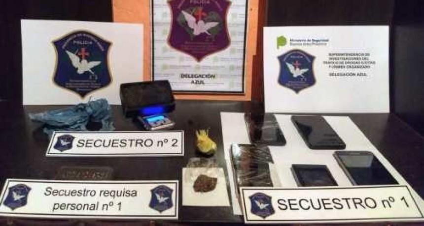 Allanamientos por venta de drogas: Un aprehendido y una veintena de demorados