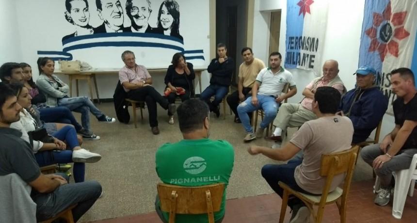 El PJ de Olavarría adhirió a la conformación del Frente Nacional