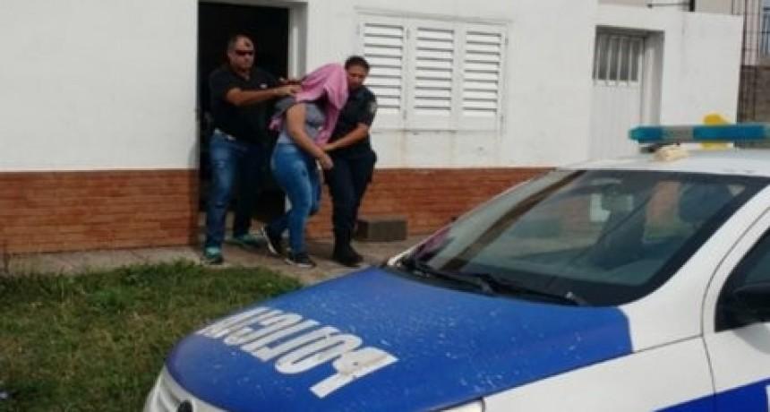 Detuvieron a una mujer por venta estupefacientes