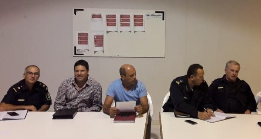 Funcionarios municipales de Seguridad se reunieron con vecinos en el Servicio Territorial N° 2