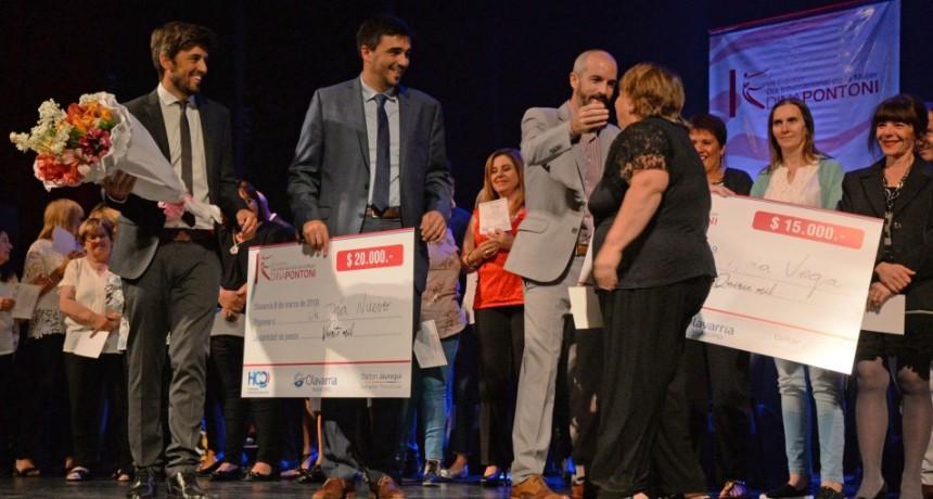 """Ana Vega del Centro """"Un Día Nuevo"""" fue la ganadora del premio """"Dina Pontoni"""" 2019"""