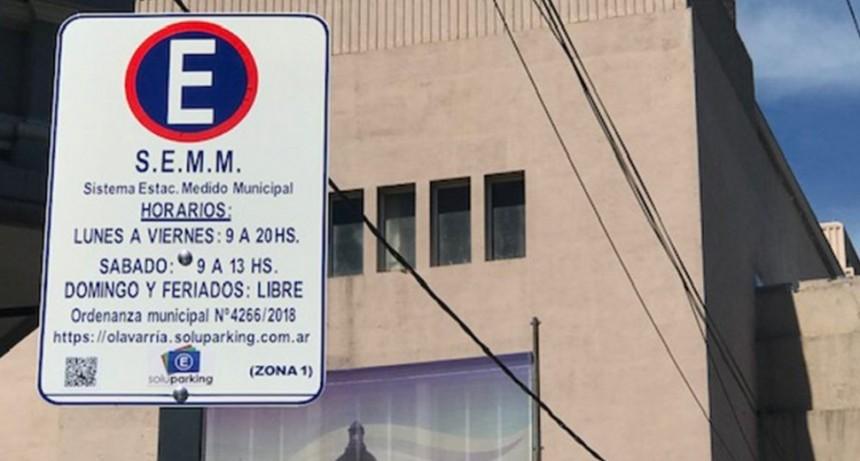 Estacionamiento Medido: desde este lunes se debe abonar