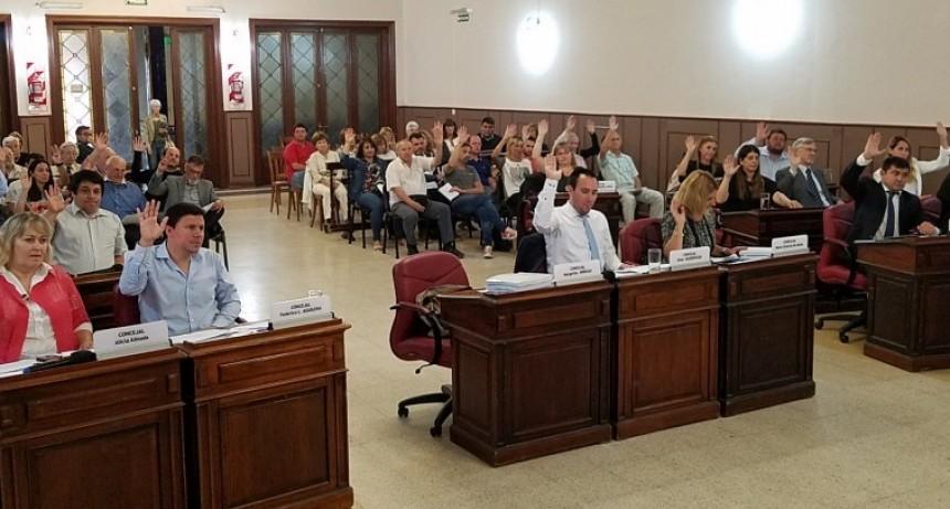 Concejo Deliberante: sesión especial por el tema Transporte Público