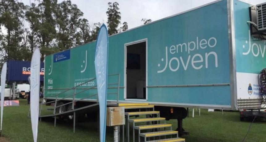 Instalarán el trailer de 'Empleo Joven' en el Paseo Jesús Mendía