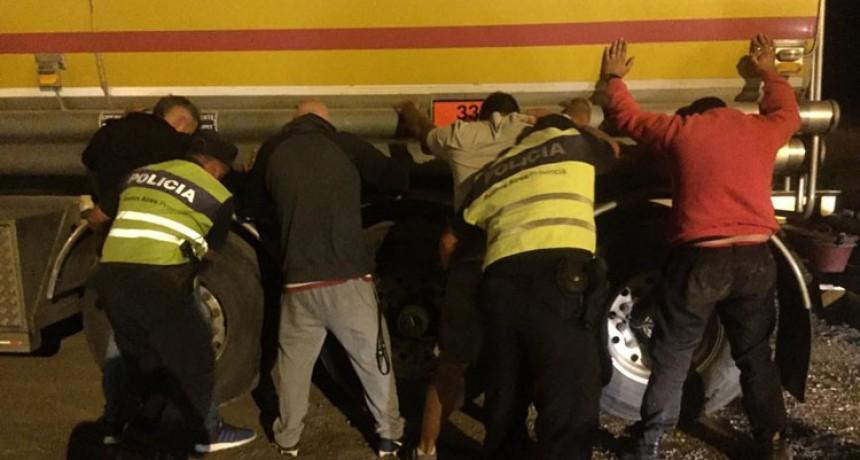Cañuelas: Olavarrienses in fraganti en robo de combustible